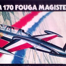 Maquetas: FOUGA CM.170 MAGISTER 1/72 HELLER. Lote 105588079