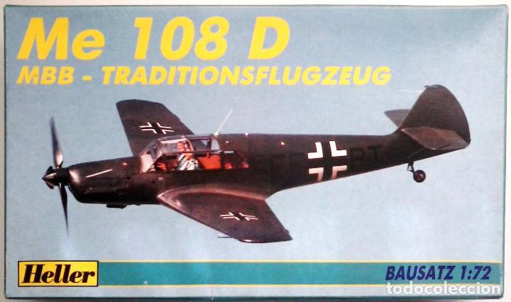 MESSERSCHMITT BF 108 TAIFUN (SPANISH CIVIL WAR/GUERRA CIVIL) 1/72 HELLER (Juguetes - Modelismo y Radio Control - Maquetas - Aviones y Helicópteros)