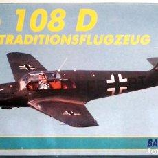 Maquetas: MESSERSCHMITT BF 108 TAIFUN (SPANISH CIVIL WAR/GUERRA CIVIL) 1/72 HELLER. Lote 105590735