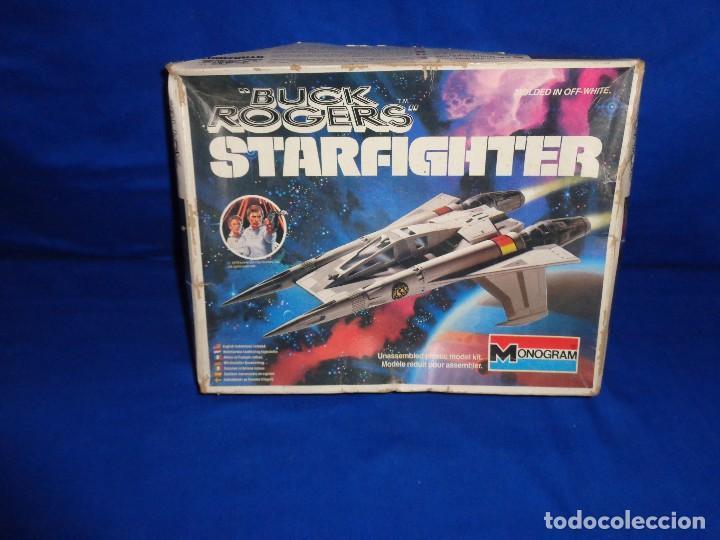 STAR WARS- MAQUETA -BUCK ROGERS- STARFIGHTER AÑO 1979,MONOGRAM, UNICA EN TODOCOLECCION VER FOTOS! SM (Spielzeug - Modellbau und Funksteuerung - Modelle - Flugzeuge und Hubschrauber)