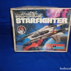 Maquetas: STAR WARS- MAQUETA -BUCK ROGERS- STARFIGHTER AÑO 1979,MONOGRAM, UNICA EN TODOCOLECCION VER FOTOS! SM. Lote 105621863