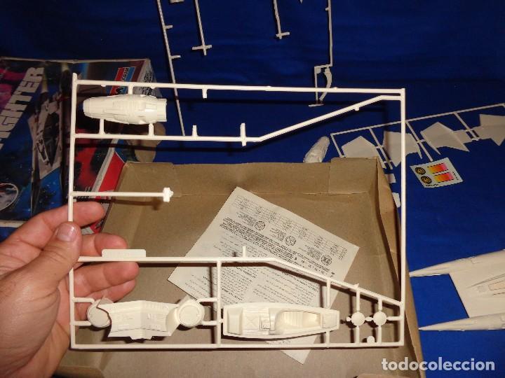 Modelle: STAR WARS- MAQUETA -BUCK ROGERS- STARFIGHTER AÑO 1979,MONOGRAM, UNICA EN TODOCOLECCION VER FOTOS! SM - Foto 9 - 105621863