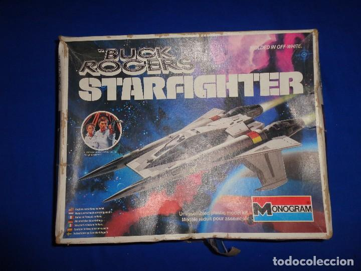 Modelle: STAR WARS- MAQUETA -BUCK ROGERS- STARFIGHTER AÑO 1979,MONOGRAM, UNICA EN TODOCOLECCION VER FOTOS! SM - Foto 14 - 105621863