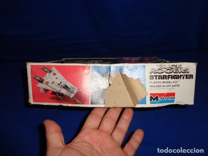 Modelle: STAR WARS- MAQUETA -BUCK ROGERS- STARFIGHTER AÑO 1979,MONOGRAM, UNICA EN TODOCOLECCION VER FOTOS! SM - Foto 15 - 105621863
