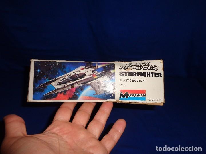 Modelle: STAR WARS- MAQUETA -BUCK ROGERS- STARFIGHTER AÑO 1979,MONOGRAM, UNICA EN TODOCOLECCION VER FOTOS! SM - Foto 16 - 105621863