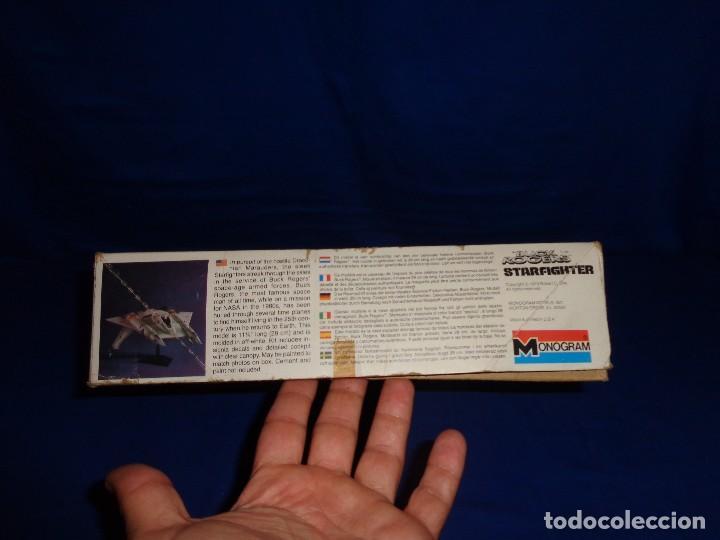 Modelle: STAR WARS- MAQUETA -BUCK ROGERS- STARFIGHTER AÑO 1979,MONOGRAM, UNICA EN TODOCOLECCION VER FOTOS! SM - Foto 17 - 105621863