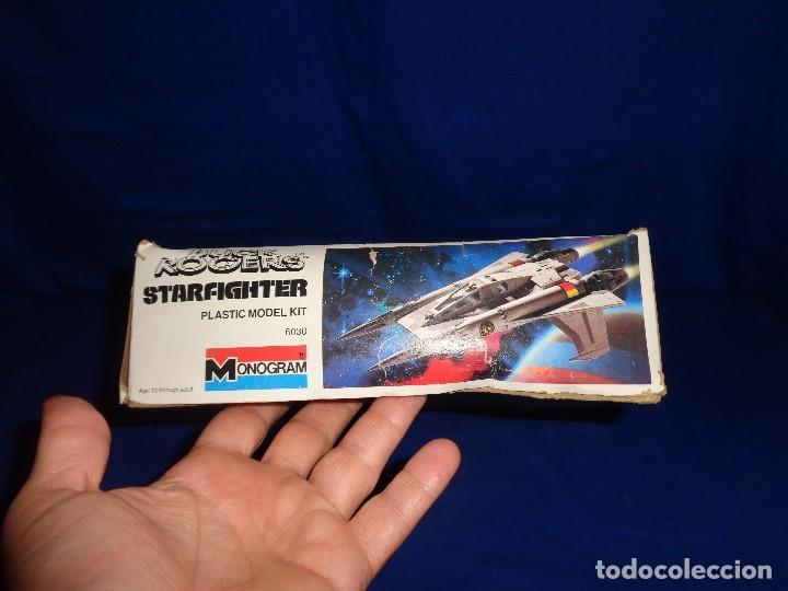 Modelle: STAR WARS- MAQUETA -BUCK ROGERS- STARFIGHTER AÑO 1979,MONOGRAM, UNICA EN TODOCOLECCION VER FOTOS! SM - Foto 18 - 105621863