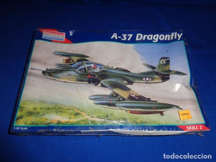 Maquetas: MONOGRAM - MAQUETA AVION A-37 DRAGONFLY SCALA 1:48 AÑO 1995 A ESTRENAR VER FOTOS Y DESCRIPCION! SM - Foto 8 - 105624275