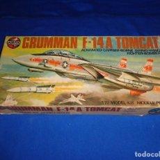 Maquetas: AIRFIX - MAQUETA GRUMMAN F-14 A TOMCAT SCALA 1:72 AÑO 1975 VER FOTOS Y DESCRIPCION! SM. Lote 105624867