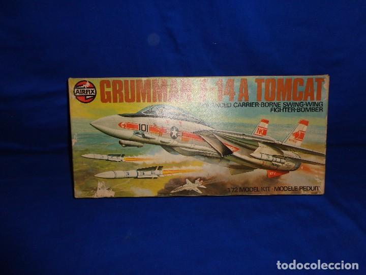 Maquetas: AIRFIX - MAQUETA GRUMMAN F-14 A TOMCAT SCALA 1:72 AÑO 1975 VER FOTOS Y DESCRIPCION! SM - Foto 2 - 105624867