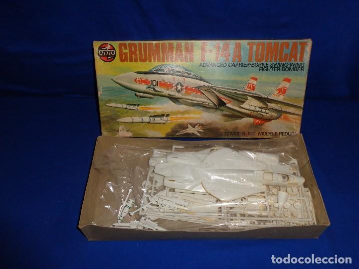Maquetas: AIRFIX - MAQUETA GRUMMAN F-14 A TOMCAT SCALA 1:72 AÑO 1975 VER FOTOS Y DESCRIPCION! SM - Foto 16 - 105624867