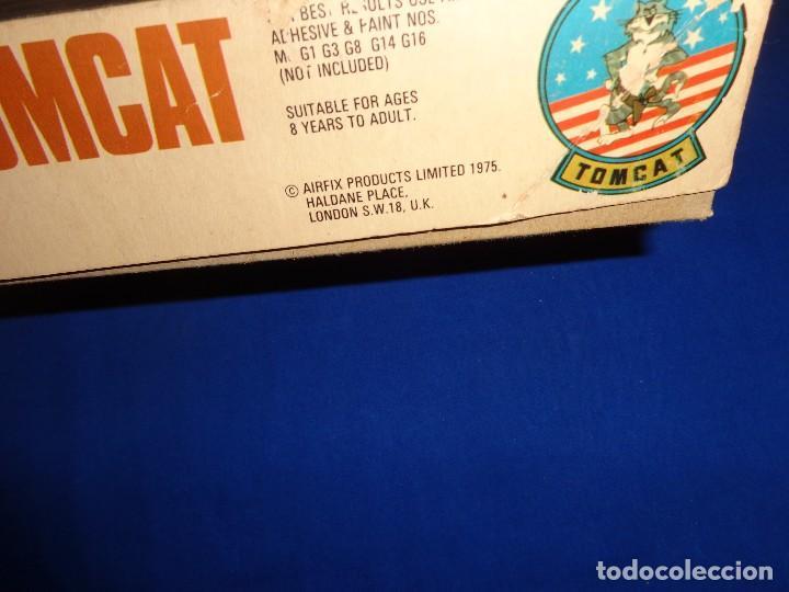Maquetas: AIRFIX - MAQUETA GRUMMAN F-14 A TOMCAT SCALA 1:72 AÑO 1975 VER FOTOS Y DESCRIPCION! SM - Foto 18 - 105624867