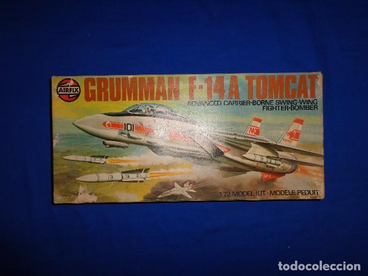 Maquetas: AIRFIX - MAQUETA GRUMMAN F-14 A TOMCAT SCALA 1:72 AÑO 1975 VER FOTOS Y DESCRIPCION! SM - Foto 19 - 105624867