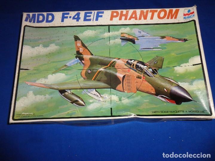 ESCI - MAQUETA AVION MDD F-4 E/F PHANTOM SCALE 1:48 AÑOS 70 VER FOTOS Y DESCRIPCION! SM (Juguetes - Modelismo y Radio Control - Maquetas - Aviones y Helicópteros)
