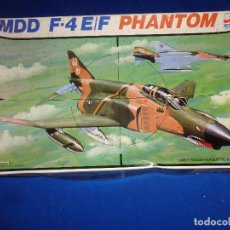 Maquetas: ESCI - MAQUETA AVION MDD F-4 E/F PHANTOM SCALE 1:48 AÑOS 70 VER FOTOS Y DESCRIPCION! SM. Lote 105630591