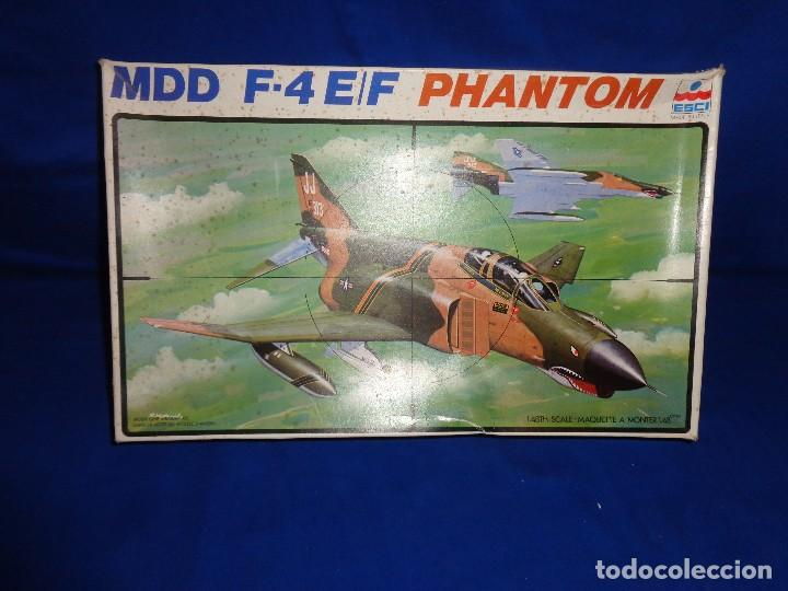 Maquetas: ESCI - MAQUETA AVION MDD F-4 E/F PHANTOM SCALE 1:48 AÑOS 70 VER FOTOS Y DESCRIPCION! SM - Foto 2 - 105630591