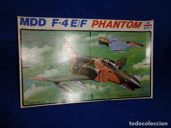 Maquetas: ESCI - MAQUETA AVION MDD F-4 E/F PHANTOM SCALE 1:48 AÑOS 70 VER FOTOS Y DESCRIPCION! SM - Foto 3 - 105630591