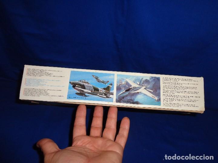 Maquetas: ESCI - MAQUETA AVION MDD F-4 E/F PHANTOM SCALE 1:48 AÑOS 70 VER FOTOS Y DESCRIPCION! SM - Foto 4 - 105630591