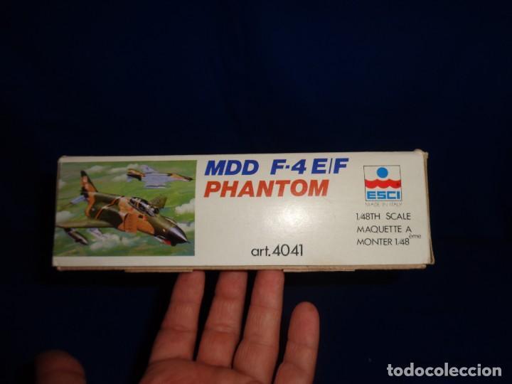 Maquetas: ESCI - MAQUETA AVION MDD F-4 E/F PHANTOM SCALE 1:48 AÑOS 70 VER FOTOS Y DESCRIPCION! SM - Foto 5 - 105630591