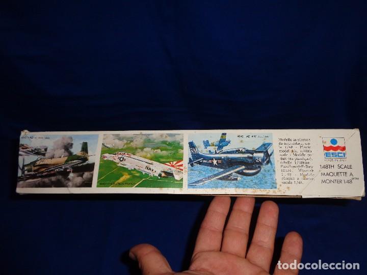 Maquetas: ESCI - MAQUETA AVION MDD F-4 E/F PHANTOM SCALE 1:48 AÑOS 70 VER FOTOS Y DESCRIPCION! SM - Foto 6 - 105630591
