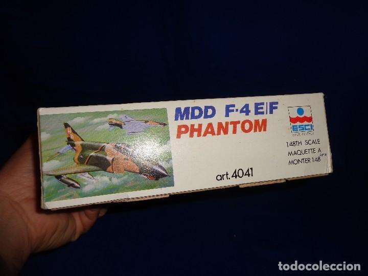 Maquetas: ESCI - MAQUETA AVION MDD F-4 E/F PHANTOM SCALE 1:48 AÑOS 70 VER FOTOS Y DESCRIPCION! SM - Foto 7 - 105630591