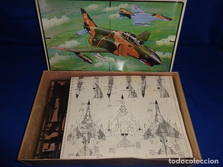 Maquetas: ESCI - MAQUETA AVION MDD F-4 E/F PHANTOM SCALE 1:48 AÑOS 70 VER FOTOS Y DESCRIPCION! SM - Foto 9 - 105630591