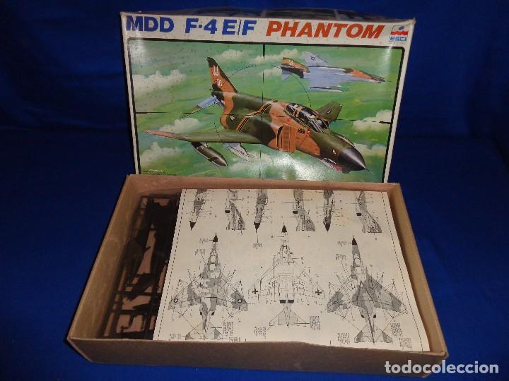 Maquetas: ESCI - MAQUETA AVION MDD F-4 E/F PHANTOM SCALE 1:48 AÑOS 70 VER FOTOS Y DESCRIPCION! SM - Foto 10 - 105630591