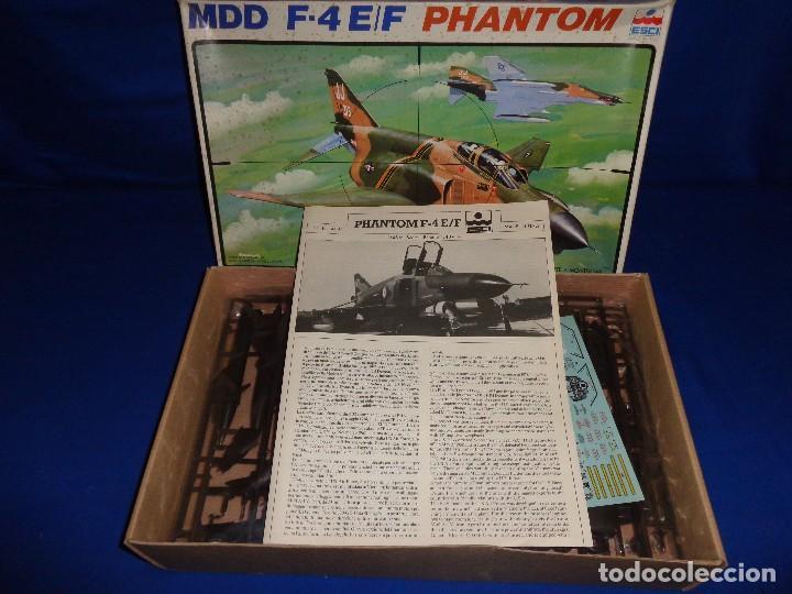 Maquetas: ESCI - MAQUETA AVION MDD F-4 E/F PHANTOM SCALE 1:48 AÑOS 70 VER FOTOS Y DESCRIPCION! SM - Foto 11 - 105630591