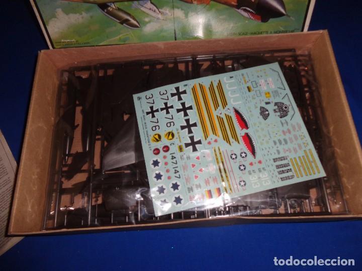 Maquetas: ESCI - MAQUETA AVION MDD F-4 E/F PHANTOM SCALE 1:48 AÑOS 70 VER FOTOS Y DESCRIPCION! SM - Foto 12 - 105630591