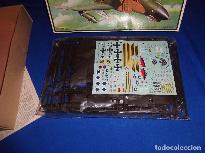 Maquetas: ESCI - MAQUETA AVION MDD F-4 E/F PHANTOM SCALE 1:48 AÑOS 70 VER FOTOS Y DESCRIPCION! SM - Foto 14 - 105630591