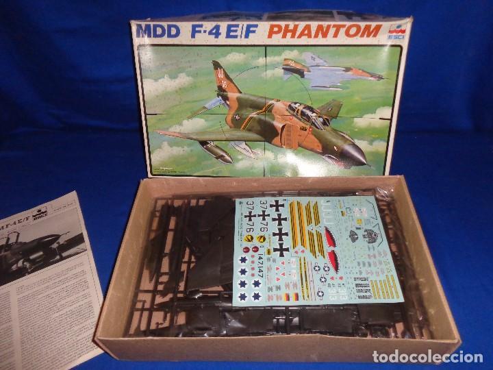 Maquetas: ESCI - MAQUETA AVION MDD F-4 E/F PHANTOM SCALE 1:48 AÑOS 70 VER FOTOS Y DESCRIPCION! SM - Foto 15 - 105630591