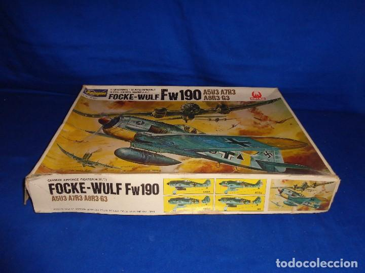 Maquetas: HASEGAWA - MAQUETA AVION FOCKE-WULF FW190 SCALA: 1:32, GERMAN AIRFORCE FIGHTER W.W.II VER FOTOS! SM - Foto 3 - 105631027