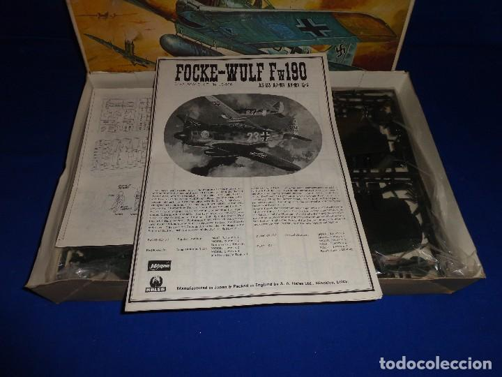 Maquetas: HASEGAWA - MAQUETA AVION FOCKE-WULF FW190 SCALA: 1:32, GERMAN AIRFORCE FIGHTER W.W.II VER FOTOS! SM - Foto 5 - 105631027