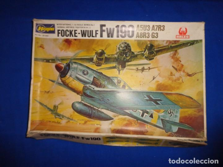 Maquetas: HASEGAWA - MAQUETA AVION FOCKE-WULF FW190 SCALA: 1:32, GERMAN AIRFORCE FIGHTER W.W.II VER FOTOS! SM - Foto 17 - 105631027