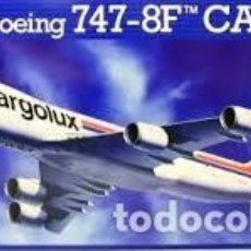 Maquetas: REVELL - BOEING 747-8F CARGOLUX 04885 1/144. Lote 158671456