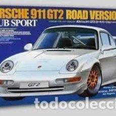 Maquetas: TAMIYA - PORSCHE 911 GT2 ROAD VERSION CLUB SPORT 24247 1/24. Lote 105773779