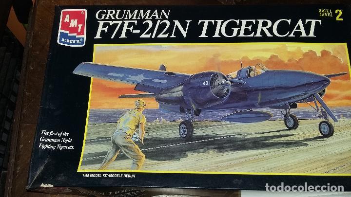GRUMMAN F7F - 2/2 TIGERCAT. AMT RTL 1/48 (Juguetes - Modelismo y Radio Control - Maquetas - Aviones y Helicópteros)