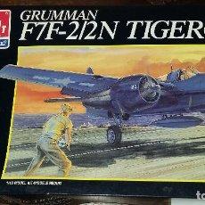 Maquetas: GRUMMAN F7F - 2/2 TIGERCAT. AMT RTL 1/48. Lote 105787915