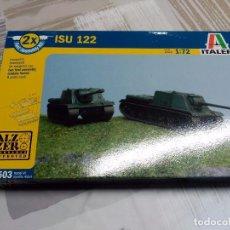 Maquetas: ISU 122 X2 FAST ASSEMBLY KIT - ITALERI - 1/72 - 7503. Lote 105811463