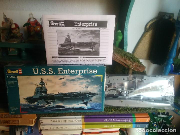 MAQUETA DEL BARCO U.S.S. ENTERPRISE (Juguetes - Modelismo y Radiocontrol - Maquetas - Militar)