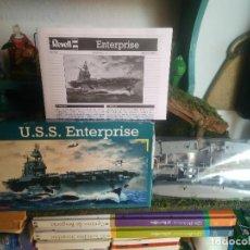 Maquetas: MAQUETA DEL BARCO U.S.S. ENTERPRISE. Lote 106697543