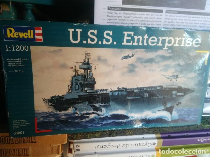 Maquetas: maqueta del barco U.S.S. ENTERPRISE - Foto 2 - 106697543