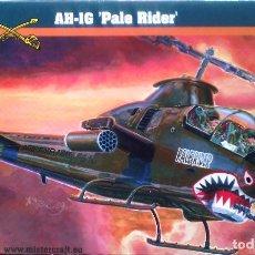 Maquetas: BELL AH-1G COBRA (CON CALCAS ESPAÑOLAS) 1/72 AEROPLAST. Lote 106957615