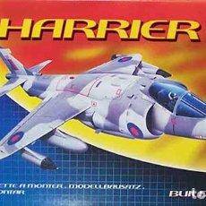 Maquettes: MAQUETA DEL CAZA DE DESPEGUE VERTICAL BAE HARRIER GR.3 DE AIRFIX A 1/72 (SEMIVINTAGE). Lote 106958023