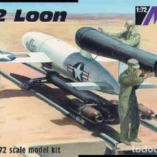Maquetas: MAQUETA DE LA BOMBA VOLANTE NORTEAMERICANA JB-2 LOON (COPIA DE LA V-1) DE MAC A 1/72. Lote 106958995