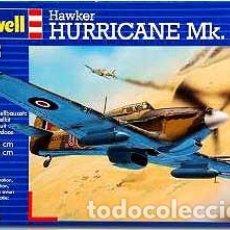 Maquetas: MAQUETA DEL CAZABOMBARDERO BRITÁNICO HAWKER HURRICANE MK IIC DE REVELL A 1/72. Lote 107068147