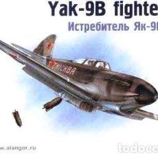 Macchiette: MAQUETA DEL CAZABOMBARDERO SOVIÉTICO YAKOVLEV YAK-9B DE ALANGER A 1/72. Lote 107068315