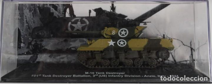 MAQUETA CAZACARROS M-10, ANZIO ITALY 1944, 1/72, ALTAYA (Juguetes - Modelismo y Radiocontrol - Maquetas - Militar)