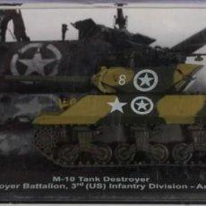 Maquetas: MAQUETA CAZACARROS M-10, ANZIO ITALY 1944, 1/72, ALTAYA. Lote 107285499