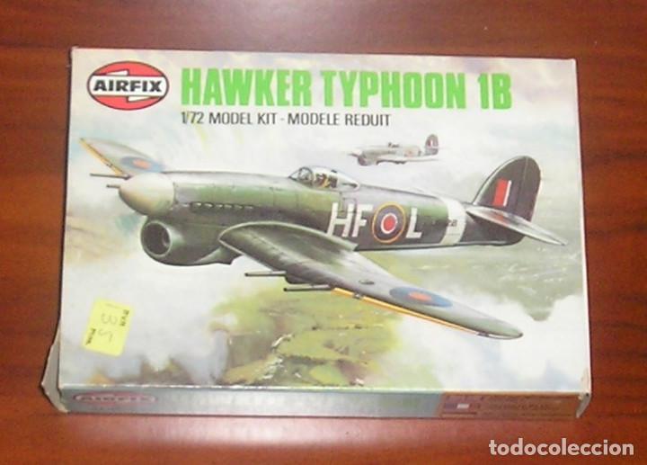 MAQUETA AVIÓN HAWKER TYPHOON 1B AIRFIX SERIE 1 (Juguetes - Modelismo y Radiocontrol - Maquetas - Militar)